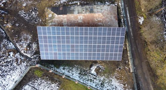 Сонячну електростанцію для дому потужністю 30 кВт встановлено в Городенці