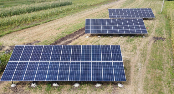Сонячну станцію для дому потужністю 30 кВт змонтовано в Ясенові-Пільному