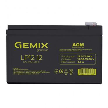 Акумуляторна батарея Gemix  LP12-12