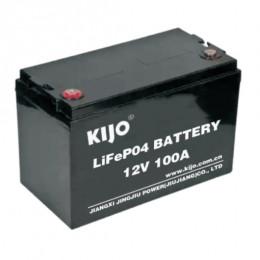 Акумуляторна батарея Kijo LiFePo4 12,8V 100Ah