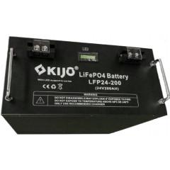 Акумуляторна батарея Kijo LiFePo4 24V 200Ah