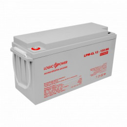 Акумуляторна батарея Logicpower LPM-GL 12V-150 Ah