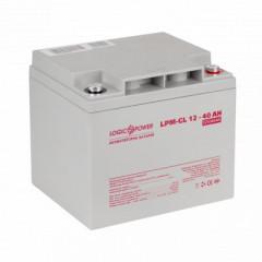 Акумуляторна батарея Logicpower LPM-GL 12V-40 Ah