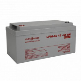 Акумуляторна батарея Logicpower LPM-GL 12V-65 Ah