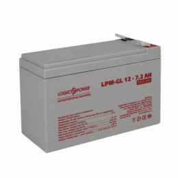 Акумуляторна батарея Logicpower LPM-GL 12V-7.2 Ah