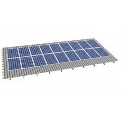 Кріпленя на скатний дах для 18 сонячних батарей