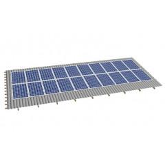 Кріпленя на скатний дах для 20 сонячних батарей