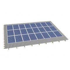 Кріпленя на скатний дах для 24 сонячних батарей