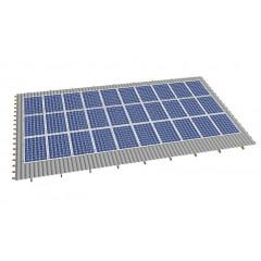 Кріпленя на скатний дах для 30 сонячних батарей