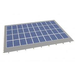 Кріпленя на скатний дах для 40 сонячних батарей