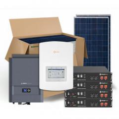 Гібридна сонячна електростанція 29 кВт