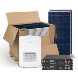 Гібридна сонячна електростанція 5 кВт