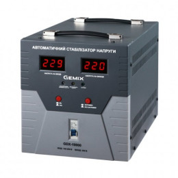 Стабілізатор напруги GEMIX GDX-10000