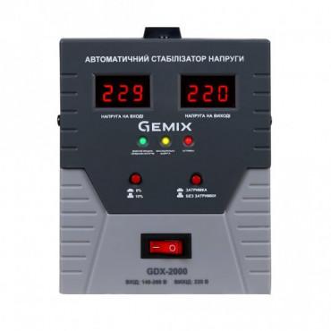 Стабілізатор напруги GEMIX GDX-2000