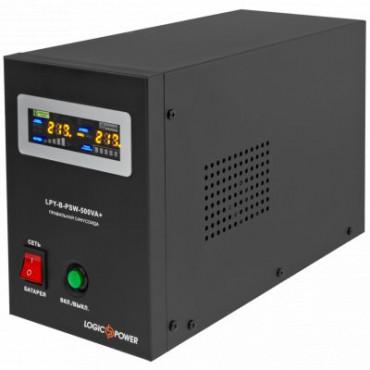 ДБЖ Logicpower з правильною синусоїдою 12V LPY-B-PSW-500VA+ (350Вт) 5A/10A