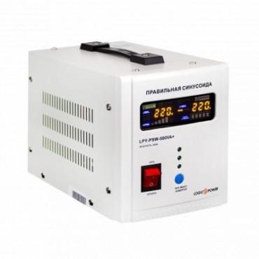 ДБЖ Logicpower з правильною синусоїдою 12V LPY-PSW-500VA+ (350Вт) 5A/10A
