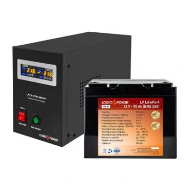 Комплект резервного живлення для котла LogicPower ДБЖ 800VA + літієва (LifePo4) батарея 1300
