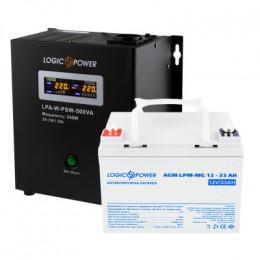 Комплект резервного живлення для котла LogicPower ДБЖ A500VA + мультигелева батарея 420W