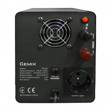 Лінійно-інтерактивний ДБЖ GEMIX PSN-500
