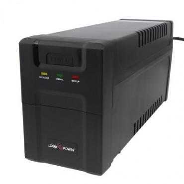 Лінійно-інтерактивний ДБЖ Logicpower LP 600VA-P (360Вт)