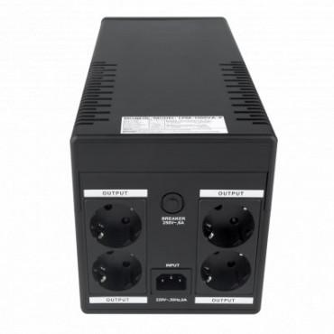 Лінійно-інтерактивний ДБЖ Logicpower LPM-1100VA-P (770Вт)