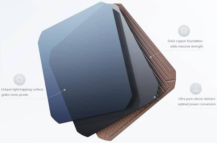 Комірки SunPower IBC N-типу з твердою мідною підкладкою забезпечують надвисоку ефективність понад 22%