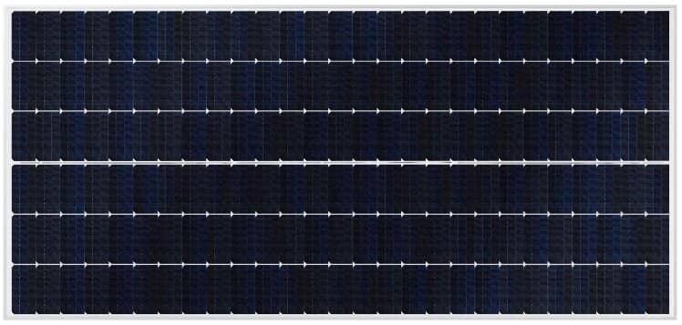 Панелі серії SunPower P19 використовують формат гонтованої комірки з вертикулятом для досягнення до 415Wp.