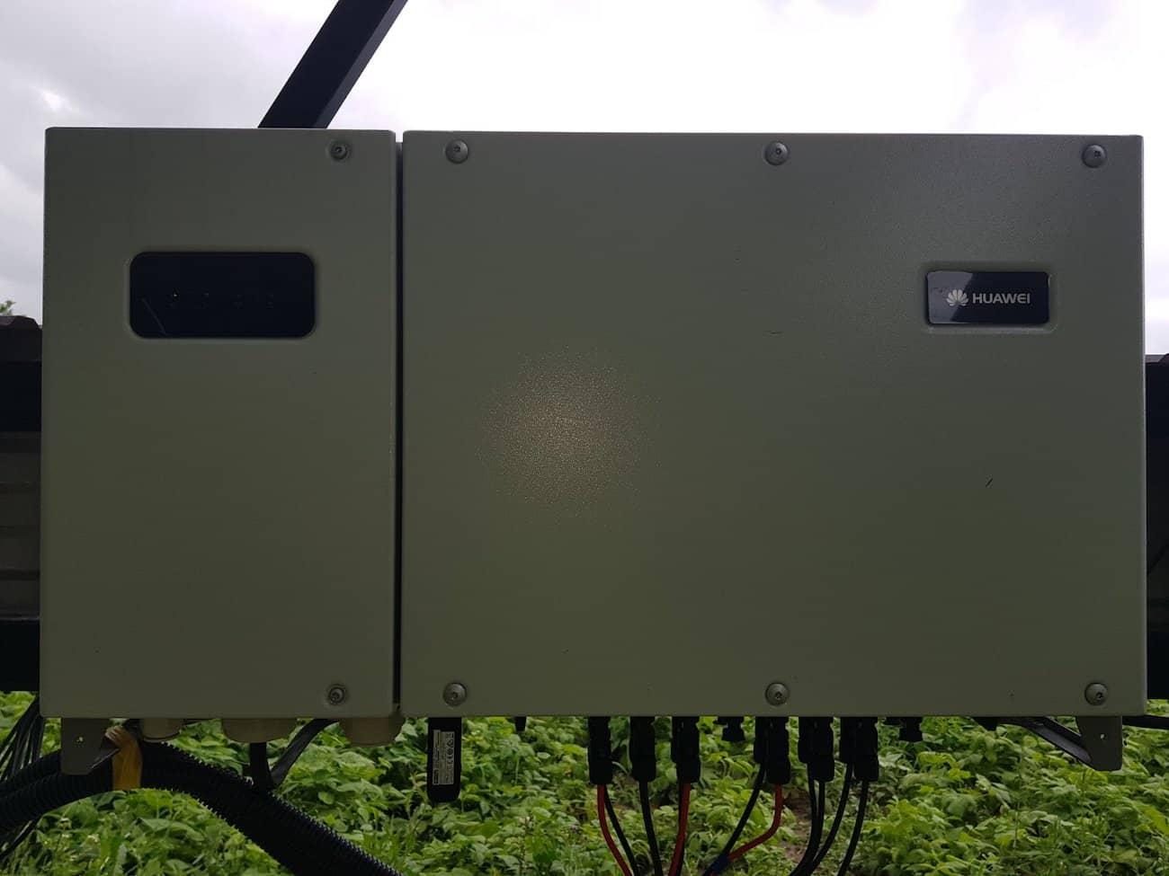 трьохфазний мережевий сонячний інвертор Huawei SUN2000-33 KTL-A синьків