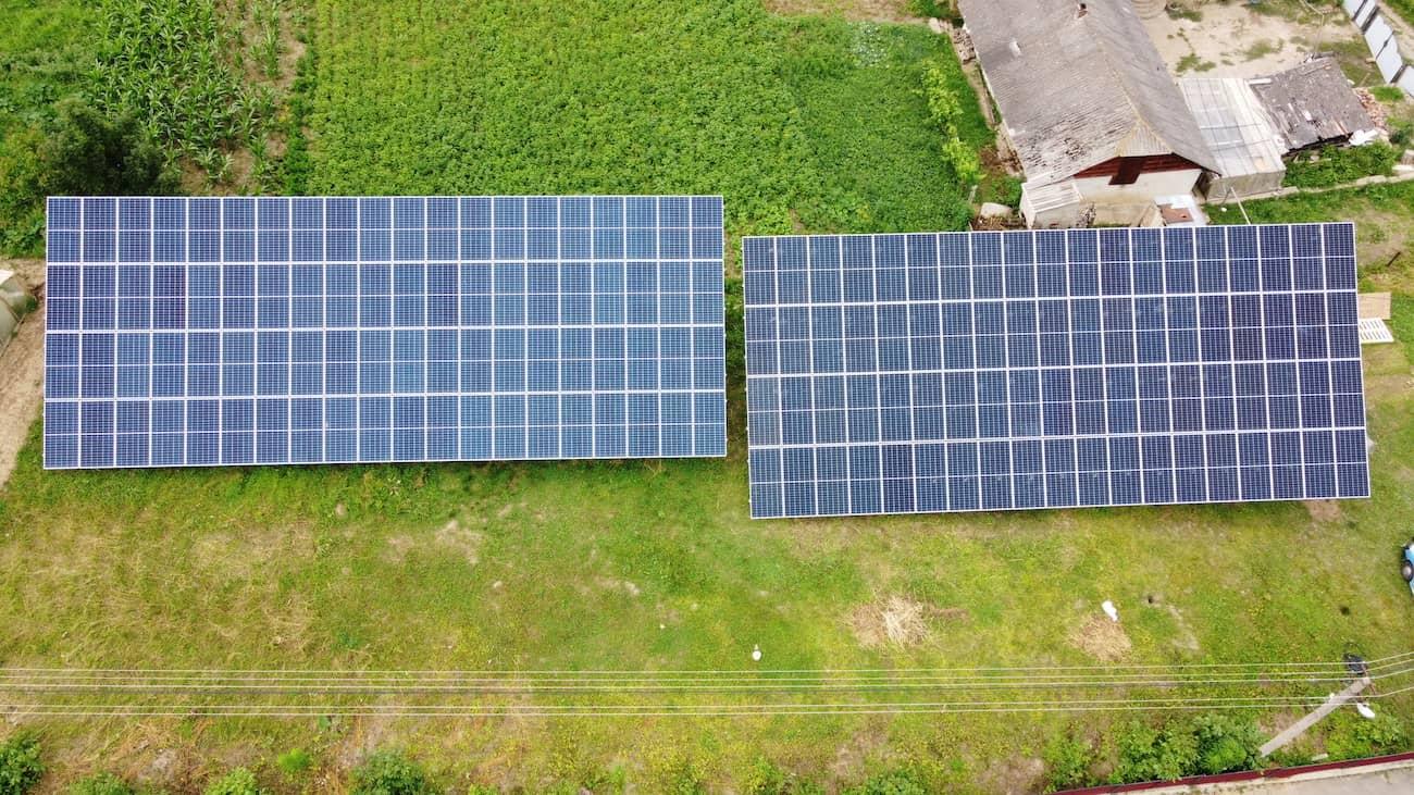 Друга черга сонячної станції потужність 30 кВт встановлено в Синькові