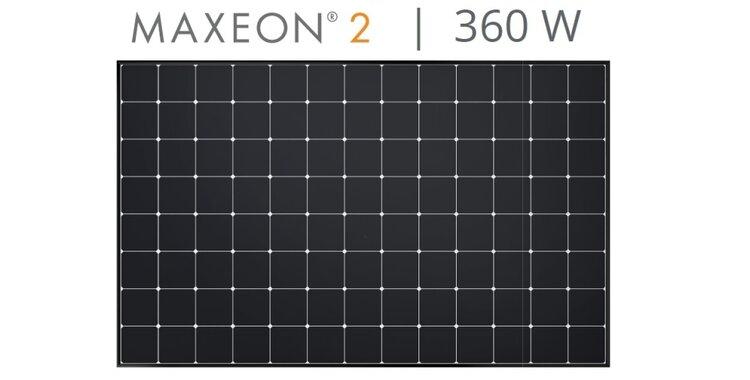 Елементи Maxeon 2