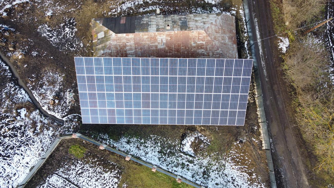 Сонячна електростанція для дому потужністю30 кВт в Городенці