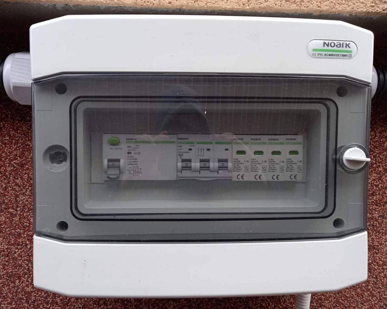 автоматику захисту змінного струму NOARK Electric