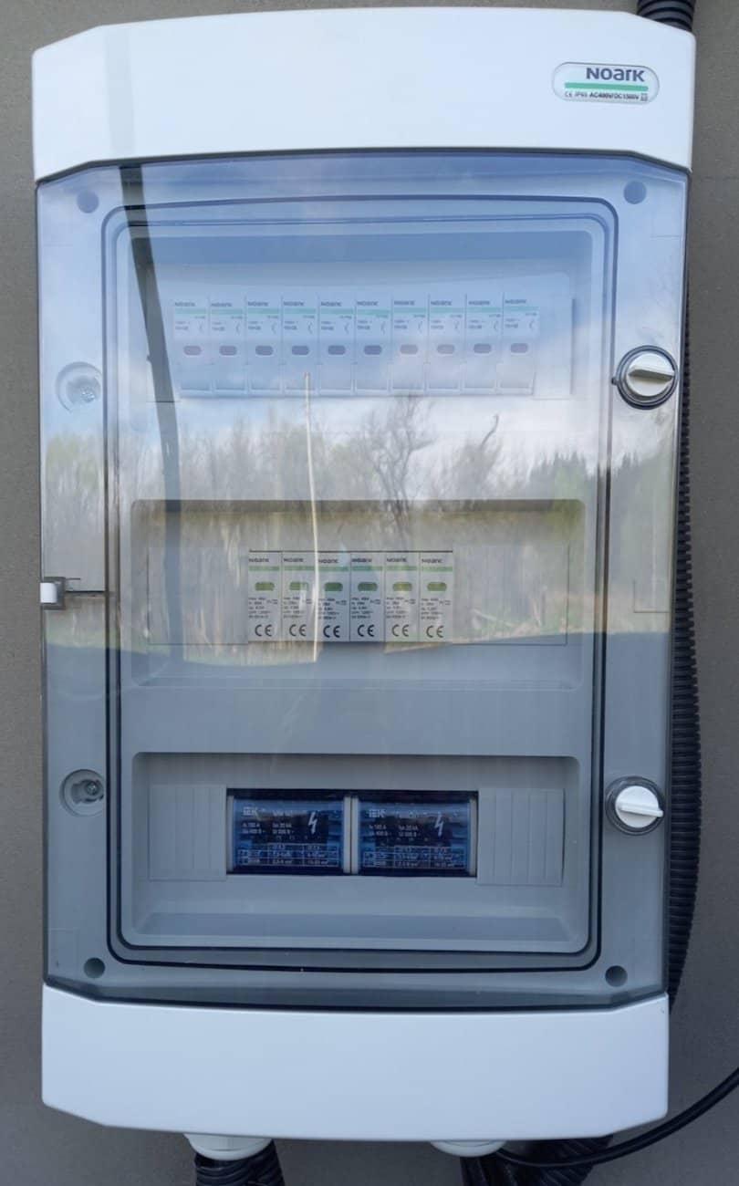автоматику захисту змінного та постійного струму NOARK Electric