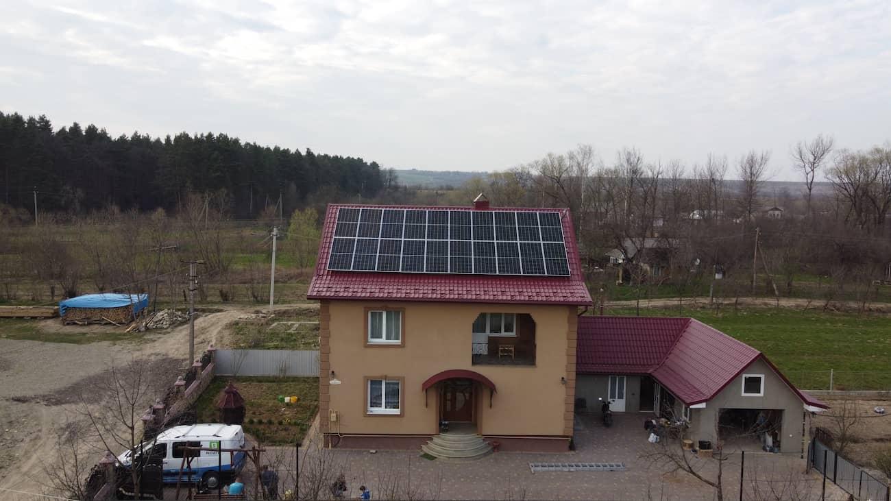 Сонячну електростанцію 30 кВт встановлено в Ланчині
