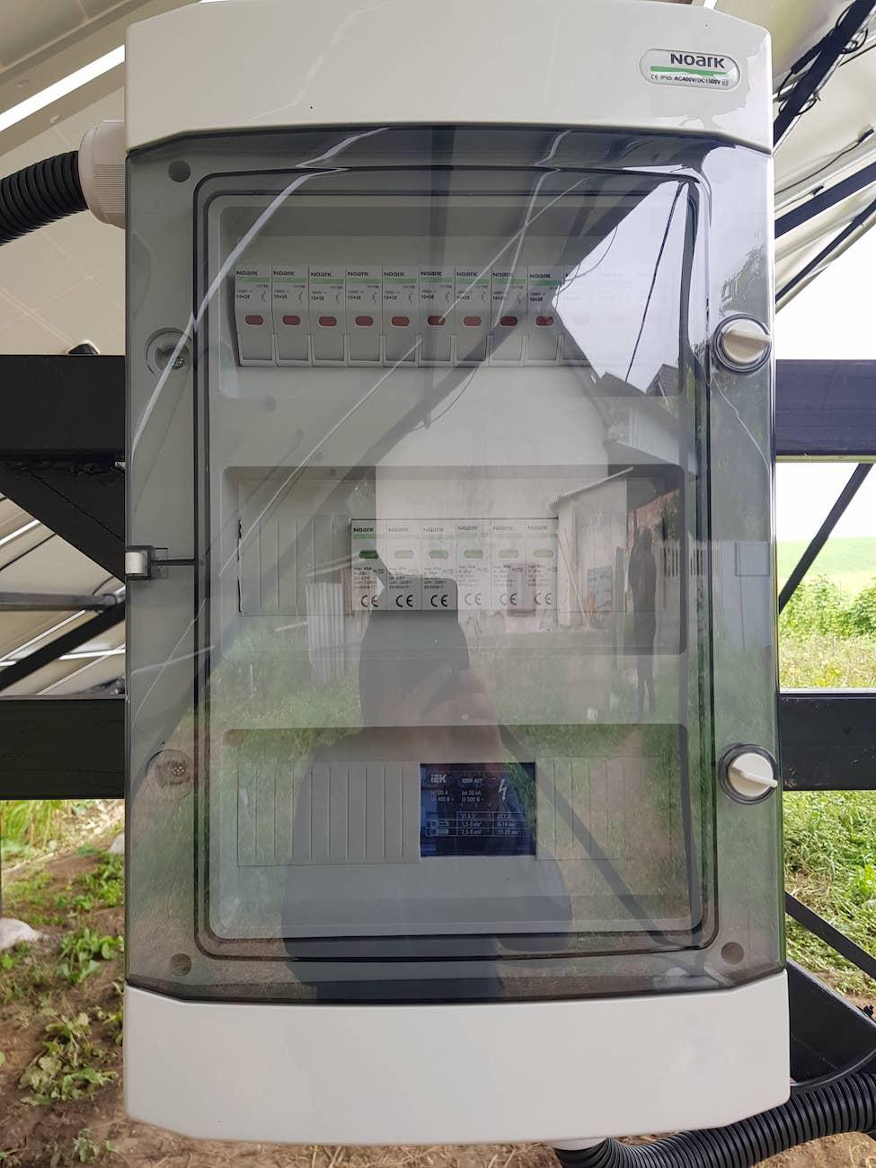 автоматику захисту постійного струму NOARK Electric
