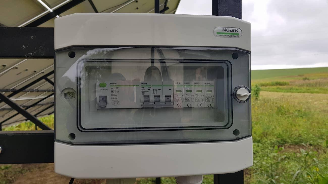 автоматику захисту змінного змінного струму NOARK Electric