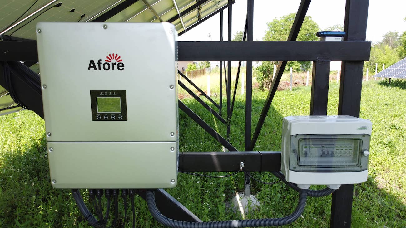 мережевий сонячний інвертор Afore BNT030KTL 3 MPPT з Wi-Fi моніторингом