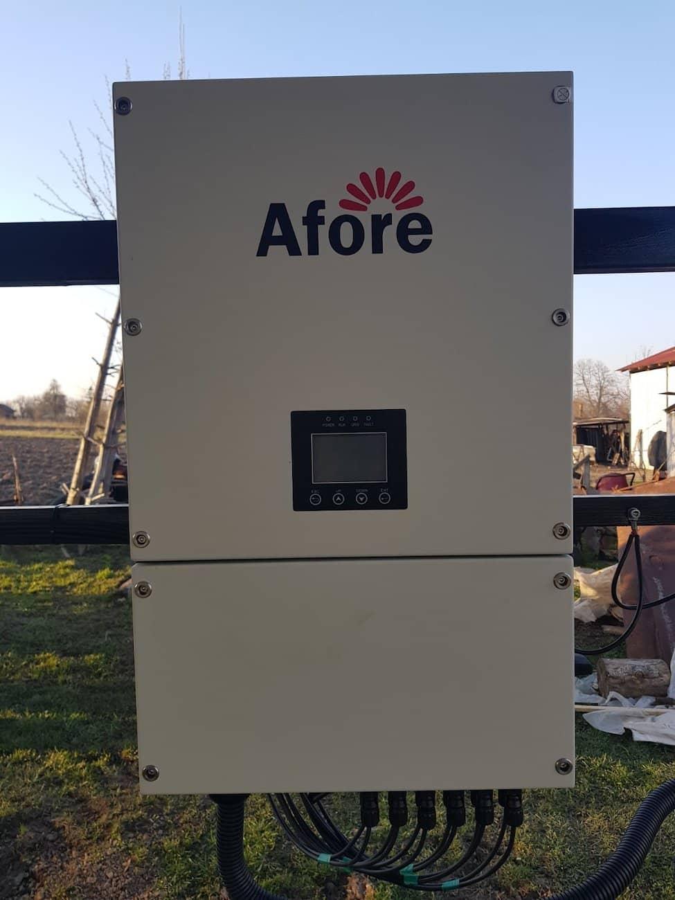 трьохфазний мережевий сонячний інвертор Afore-BNNT030KTL