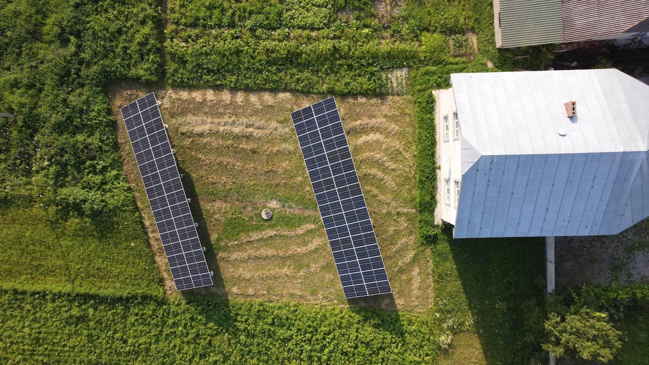 Сонячну станцію для дому потужністю 30 кВт змонтовано в селі Ворона