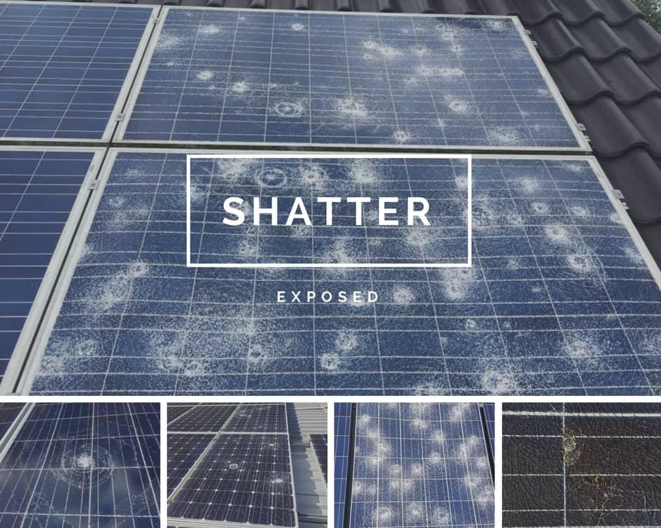 сонячні панелі руйнування