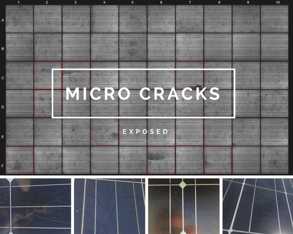 сонячні панелі мікротріщини
