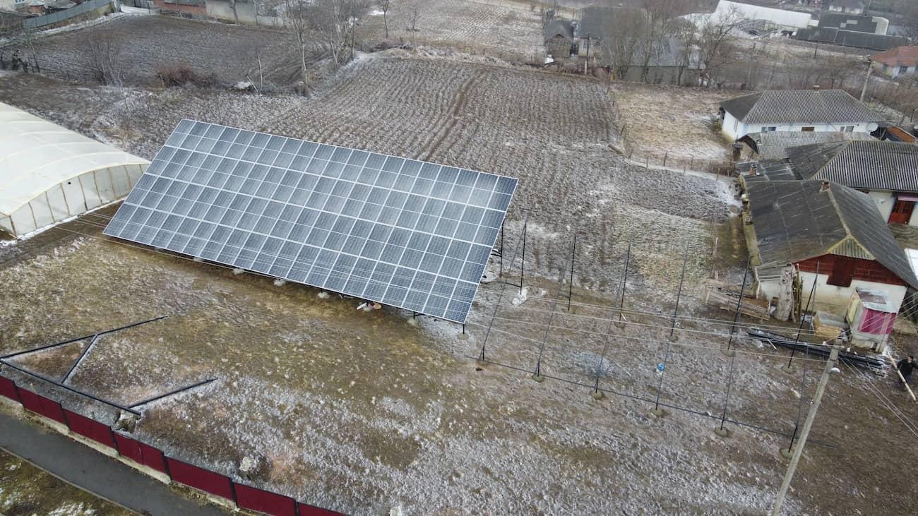 Сонячну електростанцію потужністю 30 кВт встановлено в Синькові